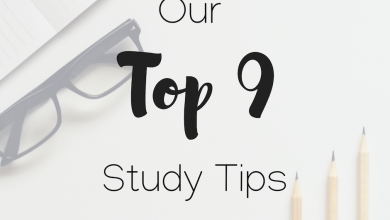 Photo of Our Top 9 Study Tips