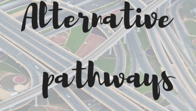 Photo of Need to follow an alternative pathway?