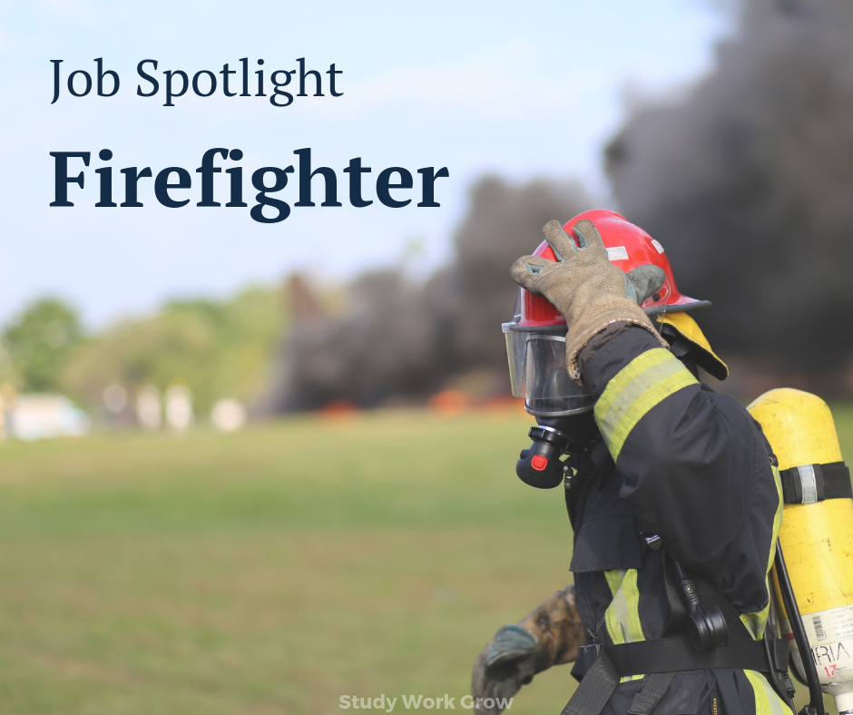 Photo of Job Spotlight Firefighter
