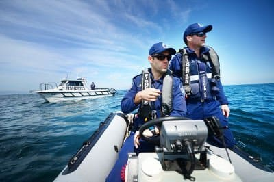 Photo of Fisheries Officers