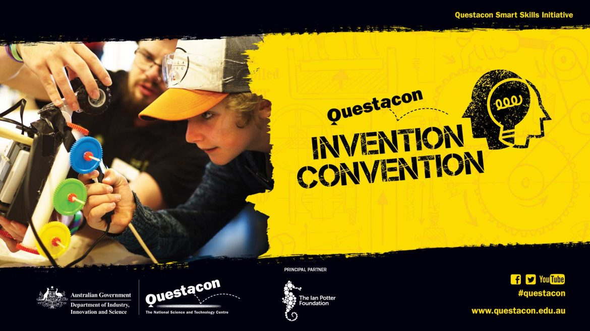 Photo of QUESTACON INVENTION CONVENTION