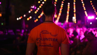Photo of Volunteer at Darwin Festival