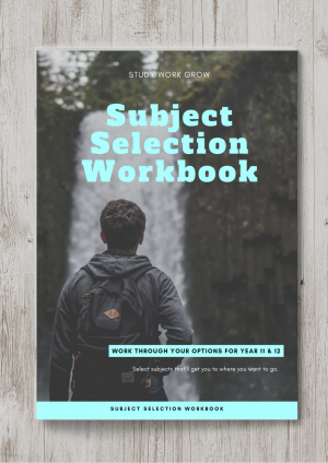 Subject Selection Workbook