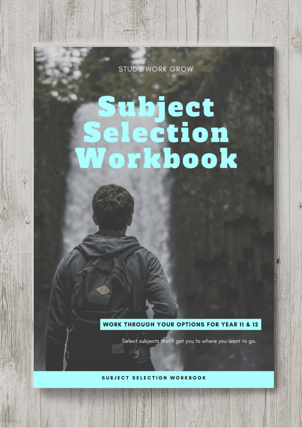 Subject Selection Workbook