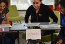 Photo of Indigenous Traineeship Program with Menzies School of Health Research