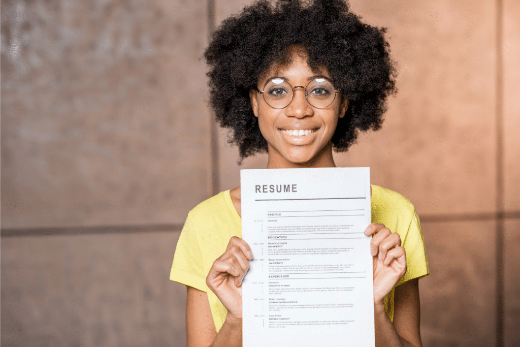 Here's how to write a resume