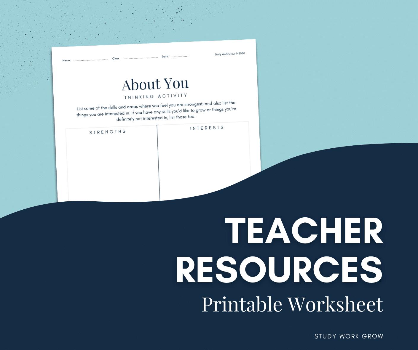 Career Teaching Resources