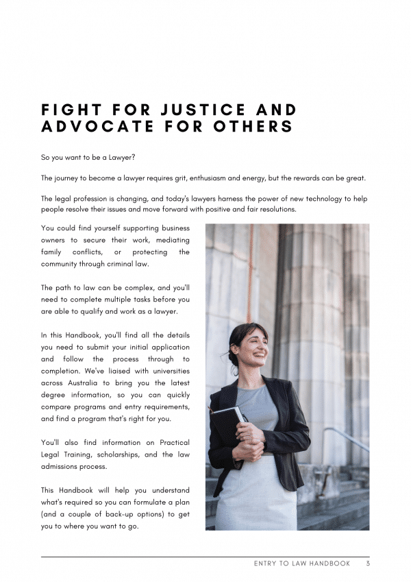 fight the good fight as a lawyer